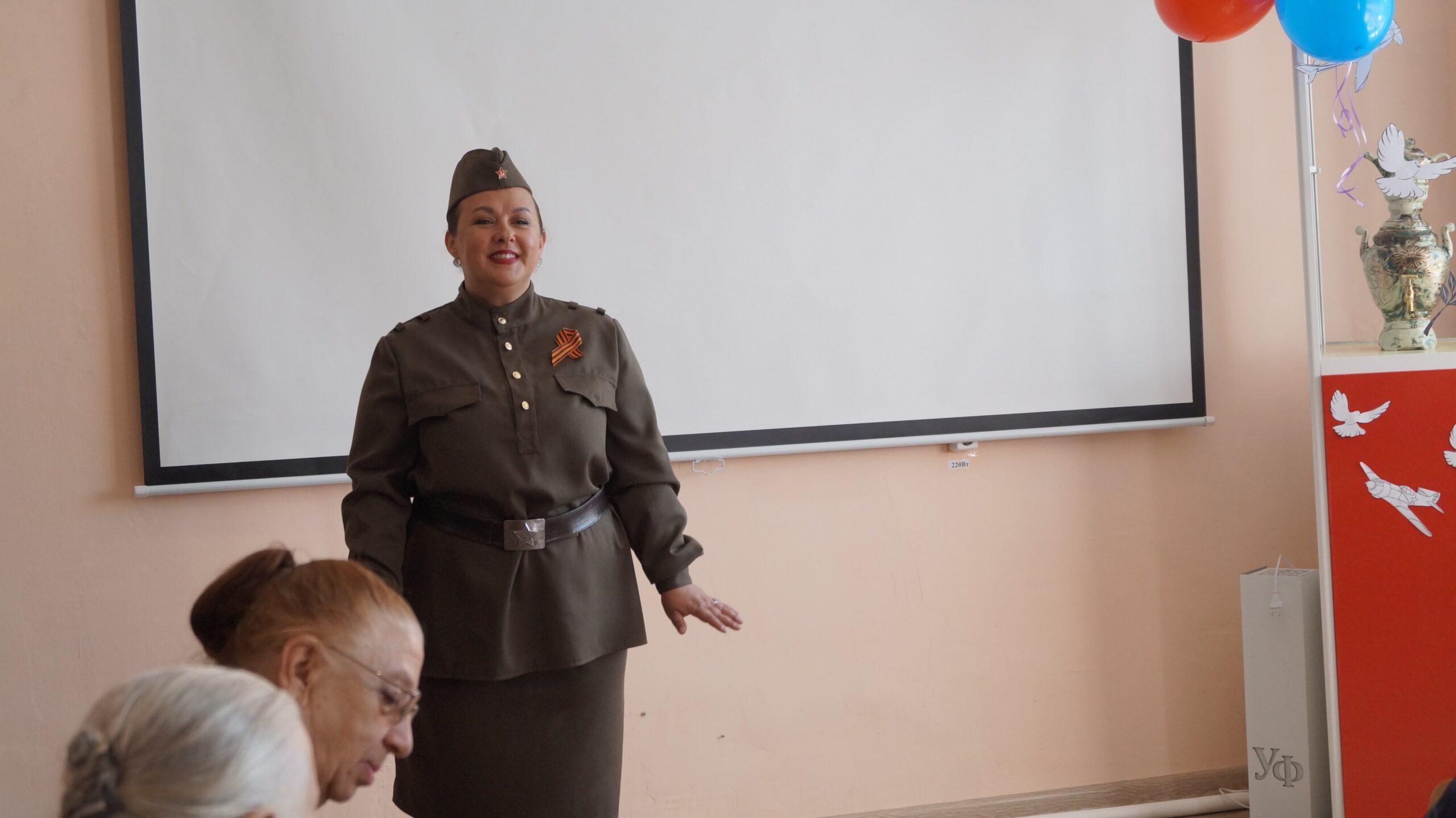 Чествование ветеранов, вдов и тружеников тыла ВОВ